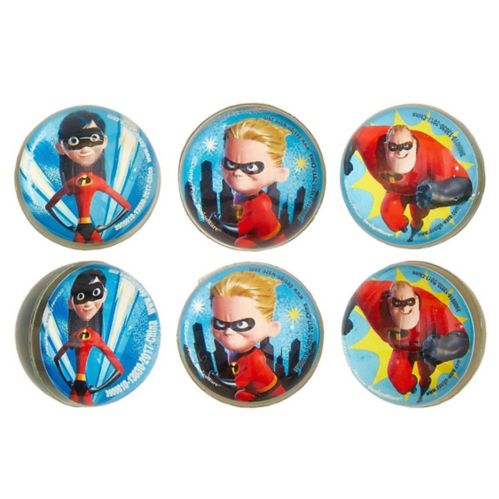 Incredibles 2 Bounce Balls, 6-pk Product image