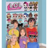 LOL Surprise Scene Setter with Photo Booth Props | Amscannull