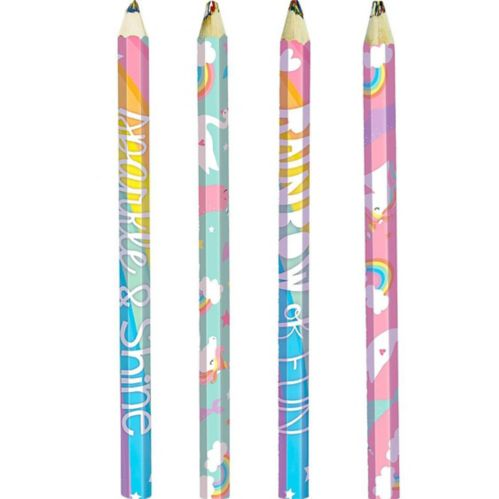 Crayons multicolores Arc-en-ciel magique, paq. 4 Image de l'article
