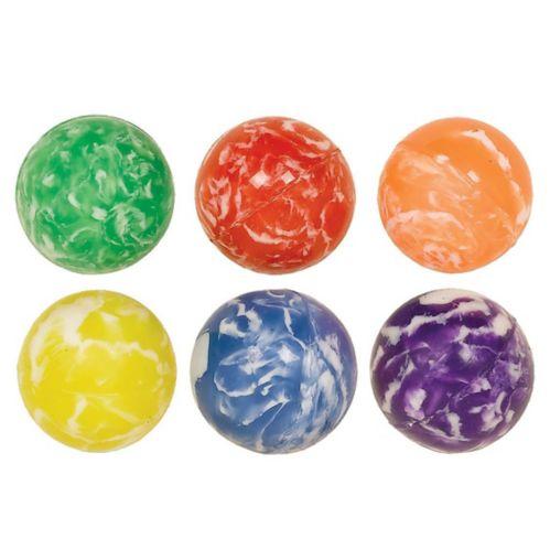 Balles rebondissantes marbrées, paq. 6 Image de l'article