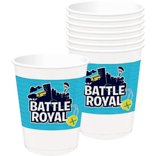 Gobelet en plastique Battle Royal, paq. 8