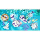 Make a Splash Wishful Mermaid Beverage Napkins, 16-pk