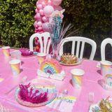 Serviettes à boisson pour anniversaire arc-en-ciel, paq. 16 | Amscannull