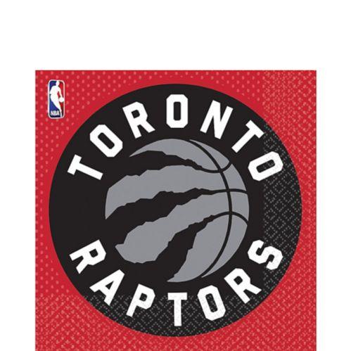 Toronto Raptors Lunch Napkins, 16-pk