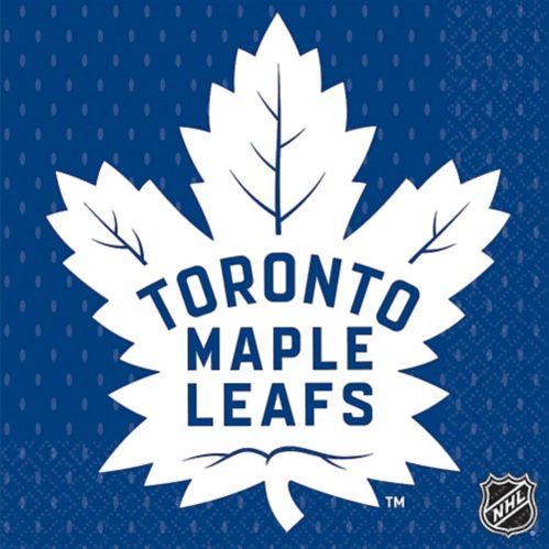 Serviettes de table Maple Leafs de Toronto, paq. 16 Image de l'article