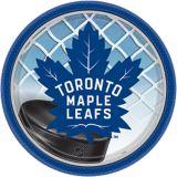 Assiettes à dessert des Maple Leafs de Toronto, 7po, paq. 8