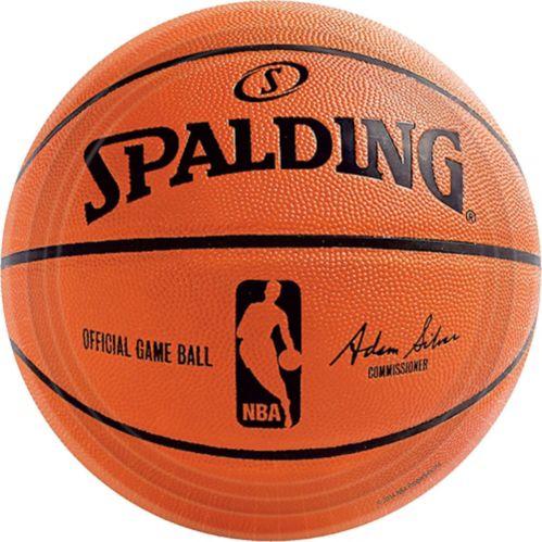 Assiettes de basketball Spalding, paq. 18 Image de l'article