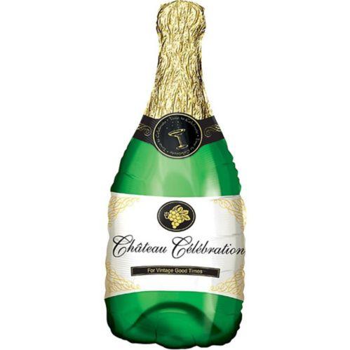 Champagne Bottle Balloon, 36-in