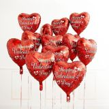 Red Valentine's Day Heart Balloon, 17-in | Amscannull