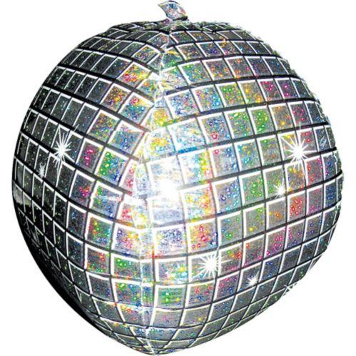 Ballon en forme boule à facettes