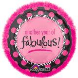 Ballon d'anniversaire boa Une Nouvelle Année Fabuleuse