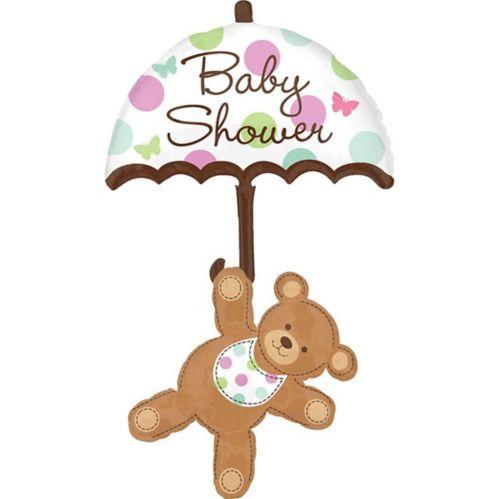 Hugs & Stitches Baby Shower Balloon, 49-in