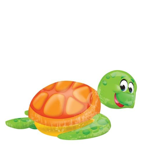 Silly Sea Turtle Balloon, 31-in x 20-in