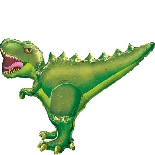 Giant T-Rex Balloon, 30-in