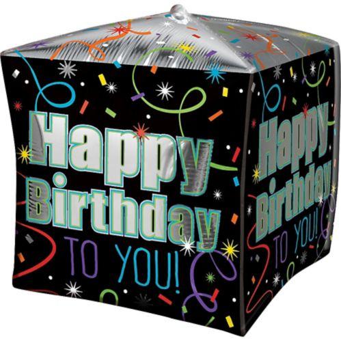 Cubez Brilliant Birthday Balloon