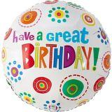 Ballon «Have A Great Birthday» | Amscannull