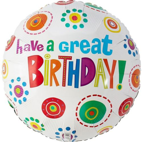 Have a Great Birthday Balloon, 16.5-in Product image