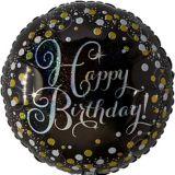 Ballon Anniversaire Célébration Prismatique Étincelant
