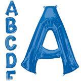 Blue Letter Balloon, 34-in | Amscannull