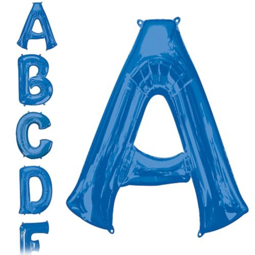 Blue Letter Balloon, 34-in Product image
