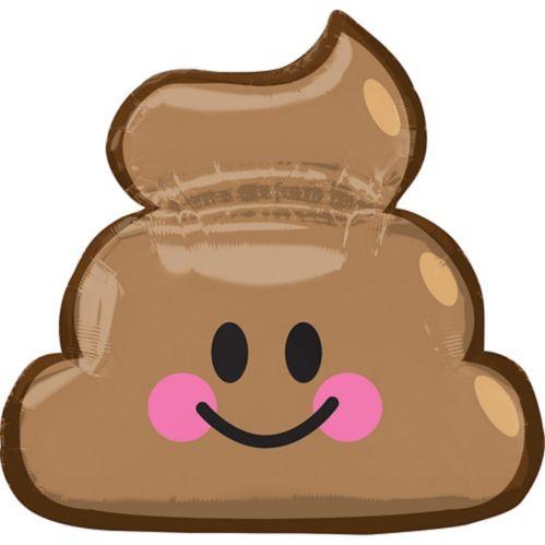 Ballon Émoji Crotte