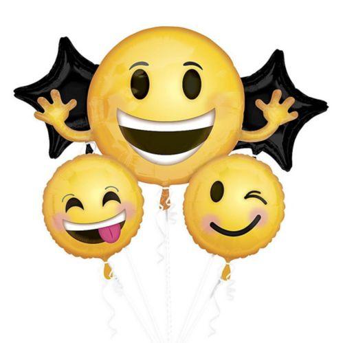 Bouquet de ballons à visage souriant, paq. 5
