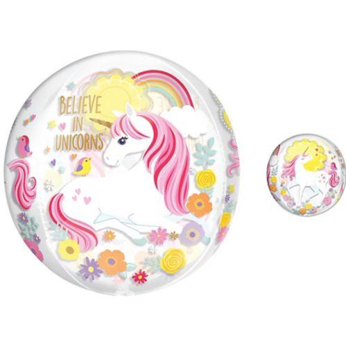 See Thru Orbz Magical Unicorn Balloon Product image