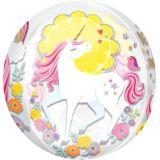 Ballon Licorne Magique See Thru Orbz