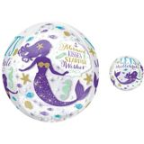 Ballon Wishful Mermaid Transparent Orbz