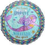 Ballon Wishful Mermaid Prismatique