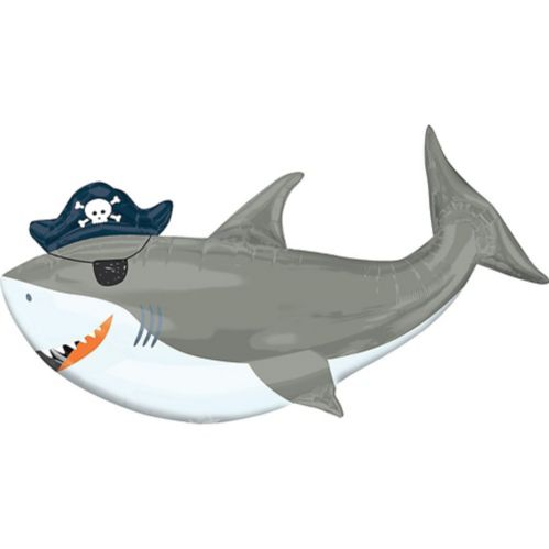 Ballon Requin Pirate Géant