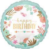 Ballon d'anniversaire, bohémien, 43 cm | Amscannull
