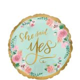 Mint to Be Bridal Shower Balloon, 17-in | Amscannull