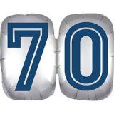 Vintage Happy Birthday 70 Balloon | Amscannull
