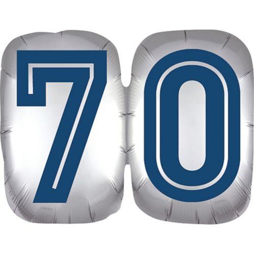 Vintage Happy Birthday 70 Balloon