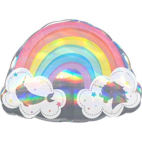 Ballon Géant Arc-en-ciel Magique