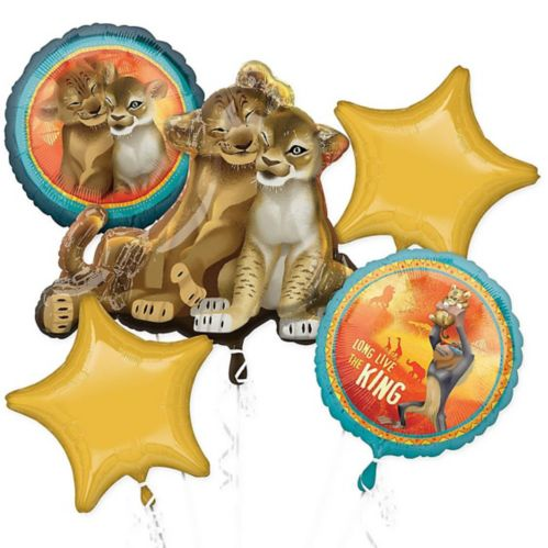 The Lion King Balloon Bouquet, 5-pc