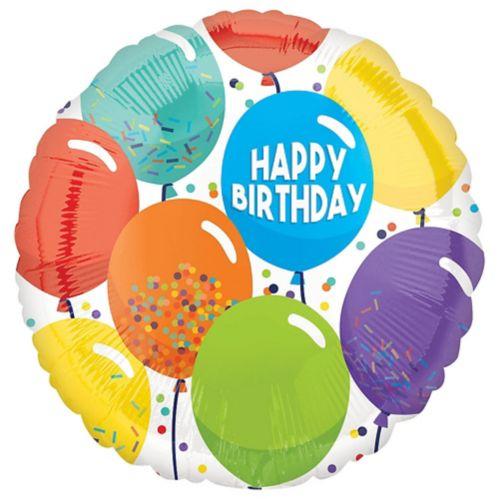 Ballons Anniversaire Multicolores