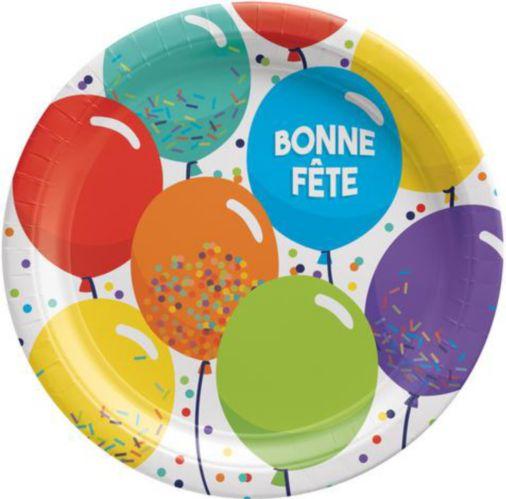 Assiette Bonne Fête, 9po
