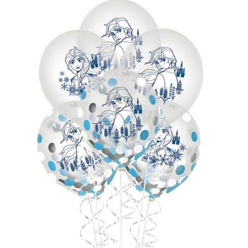 Frozen 2 Confetti Balloons, 6-pk