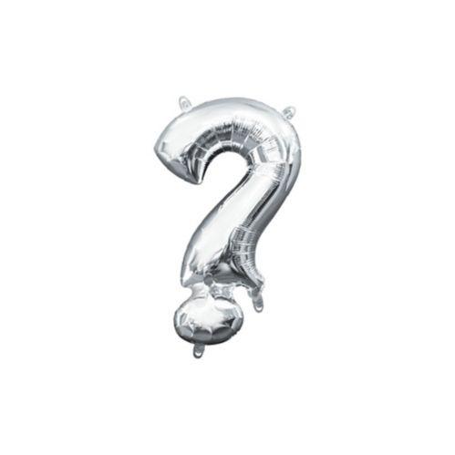 Air-Filled Question Mark Balloon