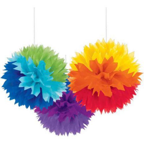 Fluffy Decoration, Rainbow