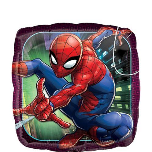 Spider-Man Webbed Wonder Balloon, 16 1/2-in x 16 1/2-in
