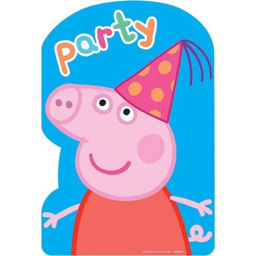 Peppa Pig Invitations, 8-pk Product image