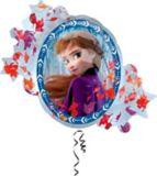 Ballon Elsa et Anna, La Reine des neiges, 31 po | Amscannull