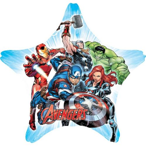 Giant Avengers Star Balloon