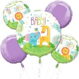 Fisher-Price Hello Baby Shower Balloon Bouquet, 5-pc