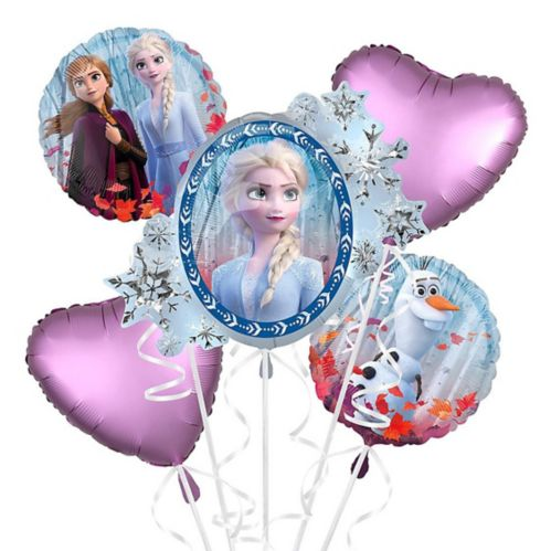 Giant Frozen 2 Balloon Bouquet, 5-pc