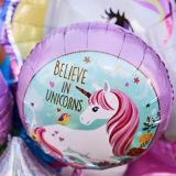 Magical Unicorn Balloon Bouquet, 5-pc
