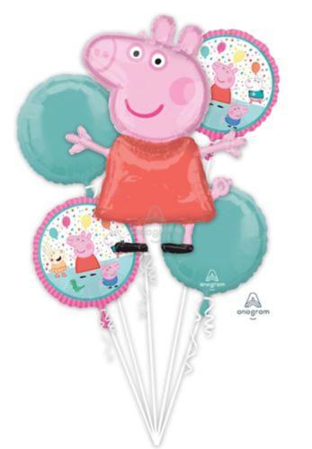 Bouquet de ballons Peppa Pig, paq. 5